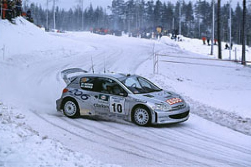Marcus Gronholm on Rally Sweden
