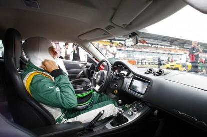 Riding with Heikki Kovalainen