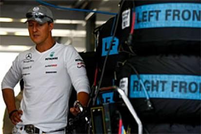 Analysing Schumacher's weekend to forget