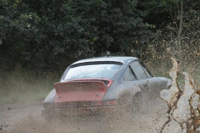 Behind the wheel of a rally classic