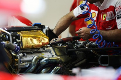 The future shape of F1 engines