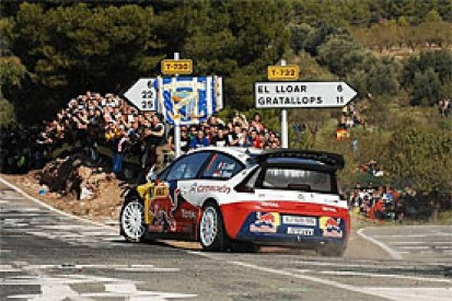 How Loeb destroyed his rivals in Spain
