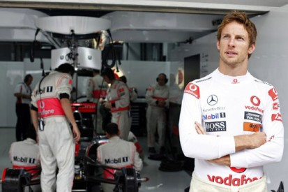 Button on his first term with McLaren