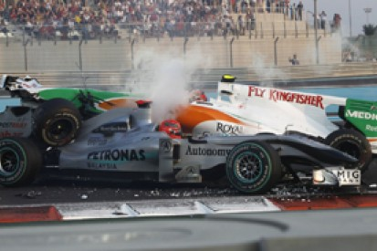The statistical review of F1 2010