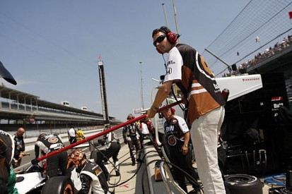 Memories of the year: Manning the pits for Tagliani at Indy