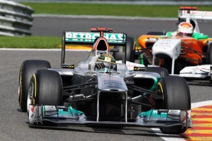 Schumacher still breaking records at Spa