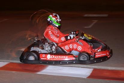 Memories of 2011: Wheldon's charity karting