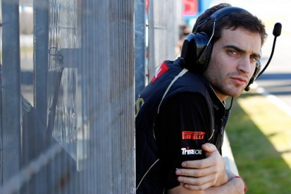 Trackside with Jerome D'Ambrosio