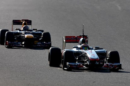 Trackside at Barcelona: Red Bull vs McLaren