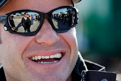Rubens Barrichello: I'm smiling, big time!