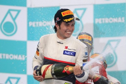 Perez ends Mexico's 41-year wait for a podium
