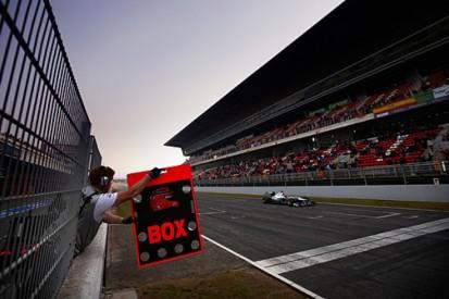 Does F1 still need in-season testing?