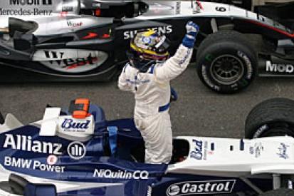 Maldonado ends the Williams wait