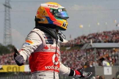 Hamilton emulates hero Senna in Hungary