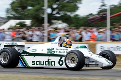 New star in an old car: Williams FW08