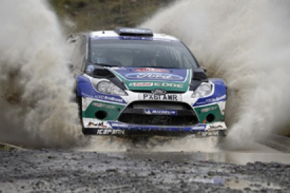 Taming Ford's World Rally beast
