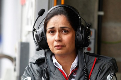 F1's leading lady on her new role at Sauber