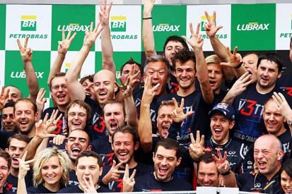 Sebastian Vettel's third title in numbers