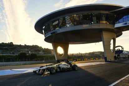 Jerez testing blog: Hamilton builds solid foundations