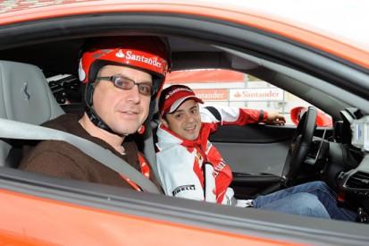 AUTOSPORT rides with Massa... against Alonso