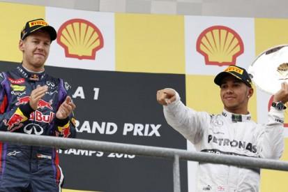 Stats: Hamilton and Vettel trade blows