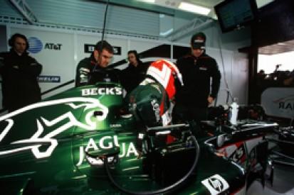 The last time Lauda drove an F1 car