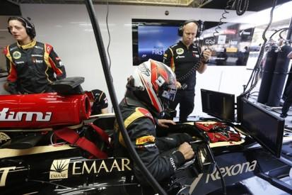 Raikkonen begins Lotus farewell tour