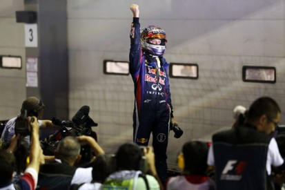 Vettel and Red Bull march on in Korea