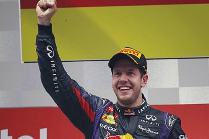 Vettel's Formula 1 success in numbers