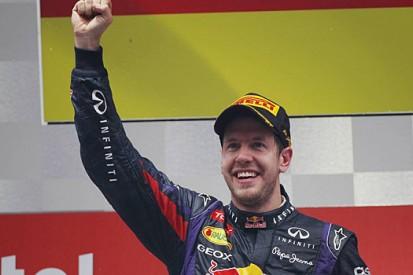Vettel's Formula 1 success in numbers