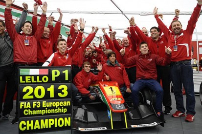 The top 10 FIA F3 drivers of 2013