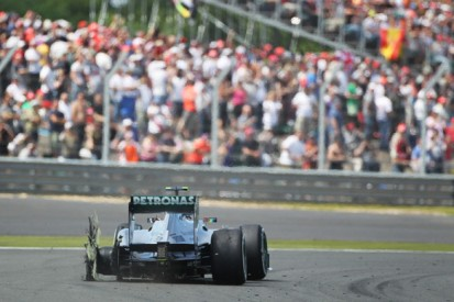 The title fight that turned on tyre failures