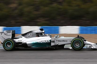 Trackside verdict: Mercedes rises early