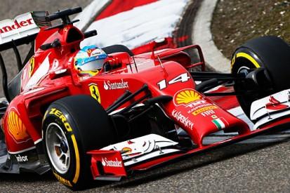 Ferrari flatters to deceive in China
