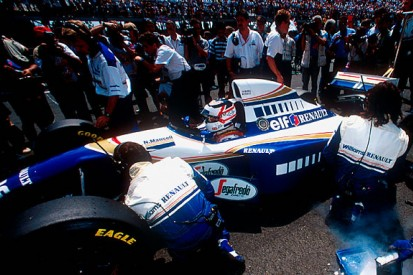 The story of Mansell's 1994 comeback
