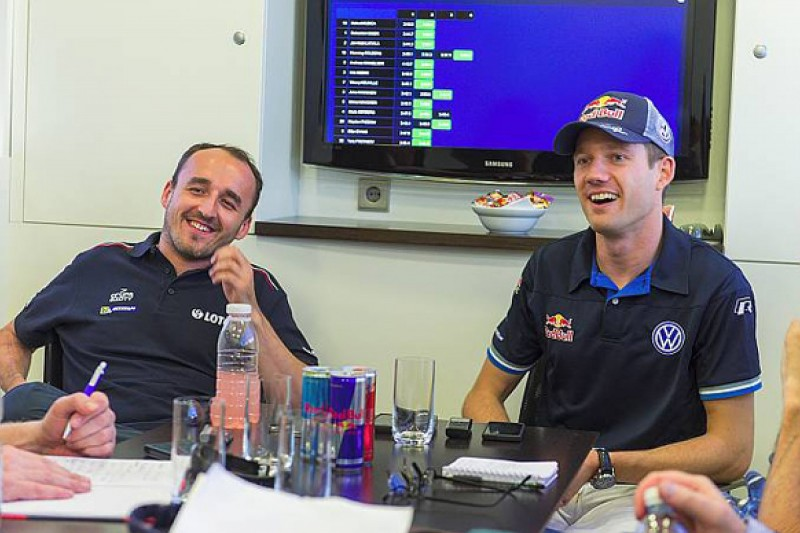 Kubica and Ogier quiz each other