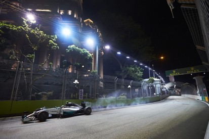 F1's first day of radio silence