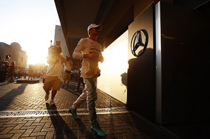 No sign of help for Rosberg