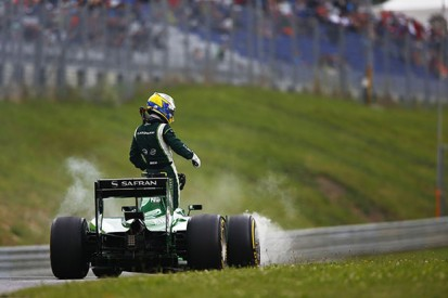The moment that led to Caterham's demise