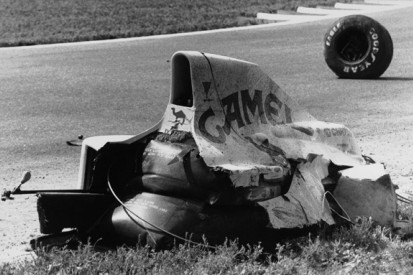 The crash that stopped 'the next Mansell'