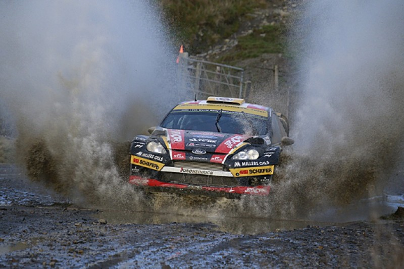 Survive the weather on Rally GB