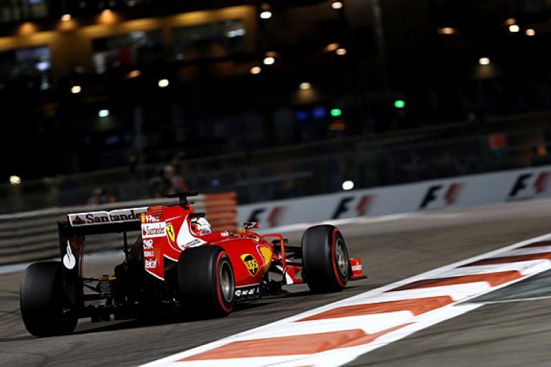 Ferrari stronger than it looks in Abu Dhabi