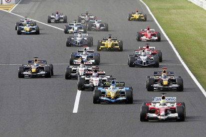The evidence for F1 reverse grids