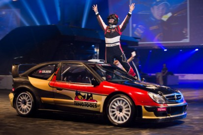 Solberg's stunt driving masterclass