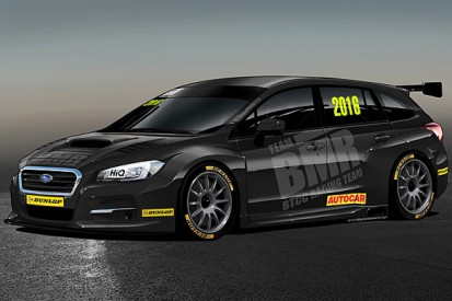 What is Subaru doing in the BTCC?