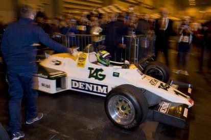 Driving Senna's first Formula 1 car