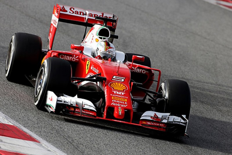 How good was Ferrari's first day?