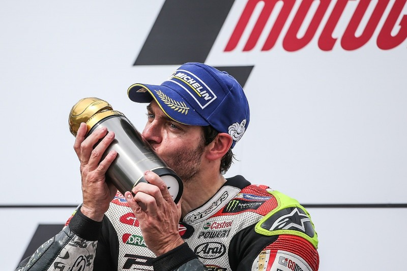 Crutchlow: From washing wheels to MotoGP glory
