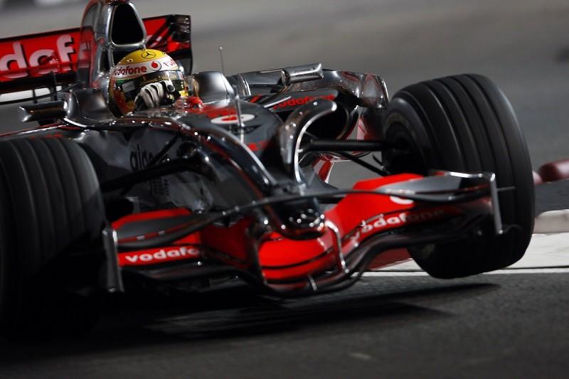 When Hamilton was F1's bad boy