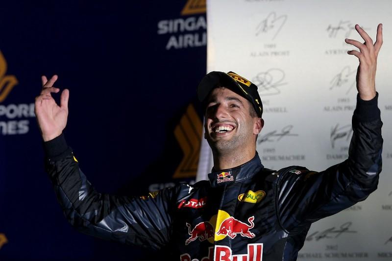 How Ricciardo brought the Singapore GP alive